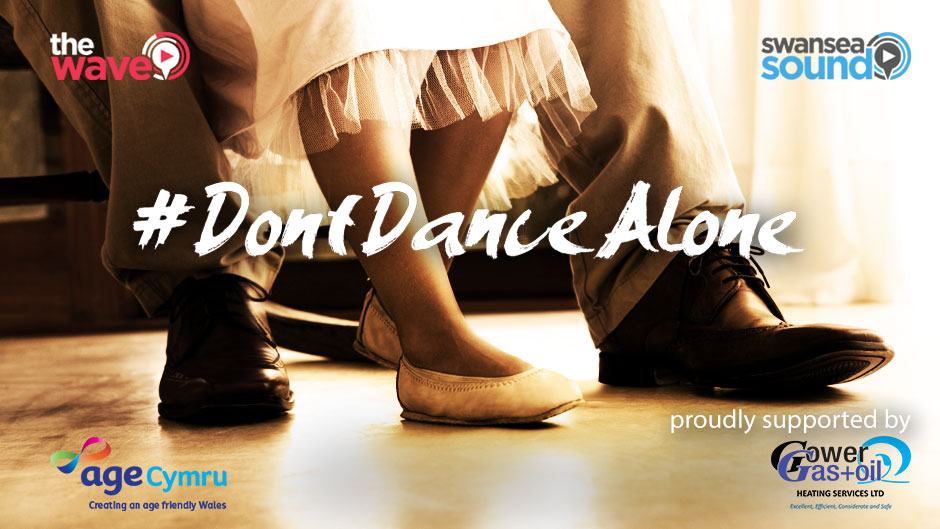 "We're supporting ""Don't Dance Alone"" Week"