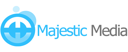 Majestic Media website design